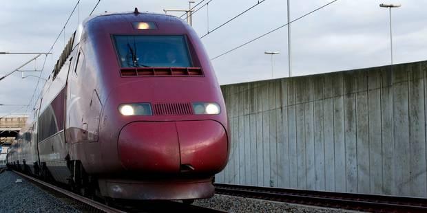 Syndicats et usagers ont pris une dernière fois le Thalys wallon - La DH