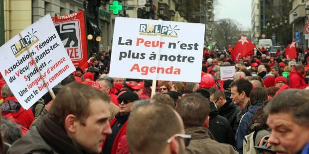 Manifestations syndicale: Retards et perturbations prévus ce soir sur les réseaux Tec et Stib (PHOTOS) - La DH