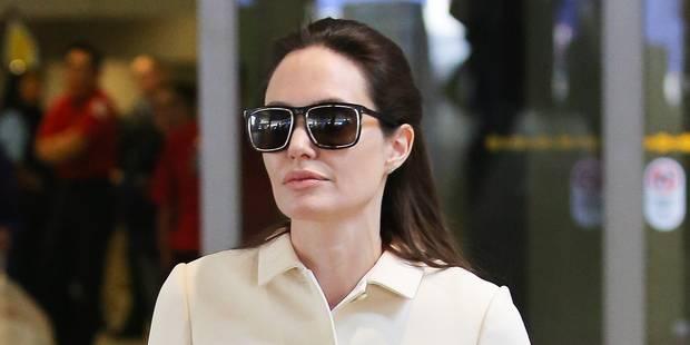 Angelina Jolie, la photo de famille qui fait froid dans le dos - La DH