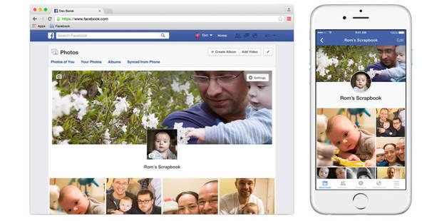 Trop de photos d'enfants éparpillées sur Facebook ? - La DH