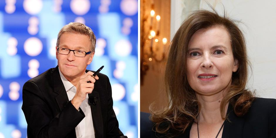 Valérie Trierweiler et Laurent Ruquier se clashent sur Twitter