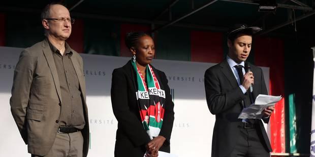 Plus de 1.500 personnes rassemblées à l'ULB pour les victimes de l'université de Garissa - La DH