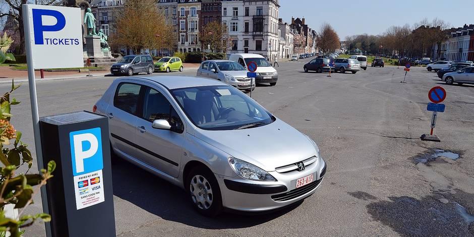 Carte Zone Bleue Tournai.Plan De Mobilite A Tournai Un Horodateur En Zone Bleue