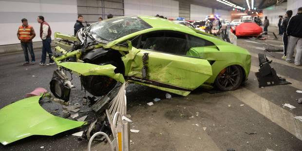 """""""Crash"""" d'une Lamborghini et d'une Ferrari à Pékin pour la sortie de """"Fast and Furious 7"""" - La DH"""