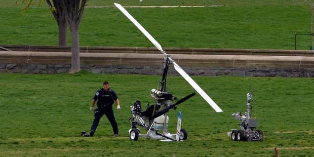 USA: Il atterrit en mini-hélicoptère près du Capitole et se fait arrêter - La DH