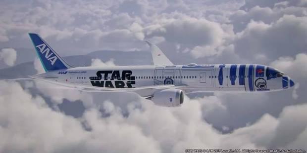 Star Wars: un Boeing 787 relooké en R2-D2 - La DH