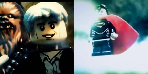 Batman vs Superman et Star Wars VII à la sauce Lego (VIDEOS) - La DH