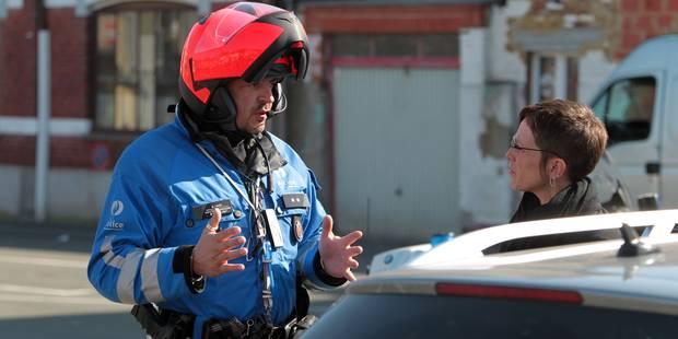 Collision entre une voiture et un cyclomoteur à La Louvière