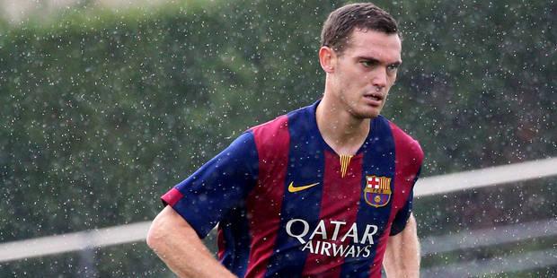 Barcelone: Thomas Vermaelen dans la sélection des 23 pour le PSG - La DH