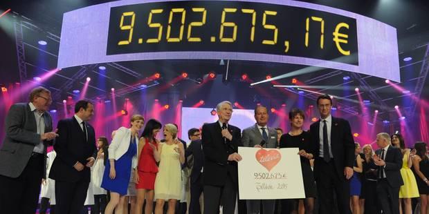 Télévie: 9.502.675 euros récoltés, le record de 2014 a été battu - La DH