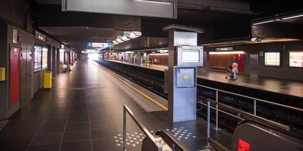 Saint-Gilles: Agression au couteau dans une station de métro - La DH