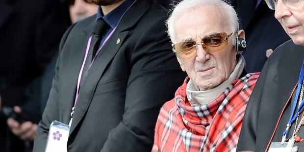 """Aznavour: """"Si j'arrête, je meurs?"""" - La DH"""