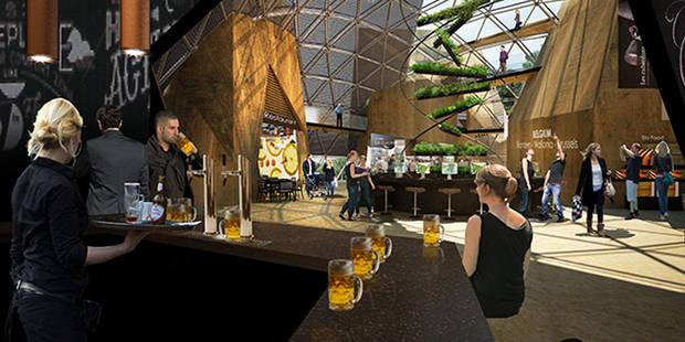 La bière, star du pavillon belge à Milan 2015 - La DH