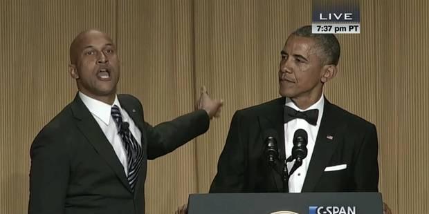 Le sketch de Barack Obama avec un traducteur colérique qui fait le buzz - La DH