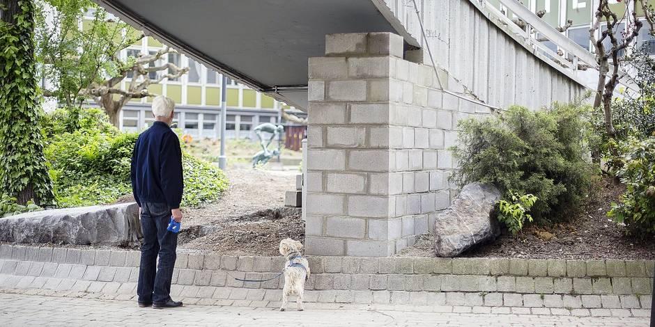 SDF: un mur de la honte au coeur de Liège ! - La DH