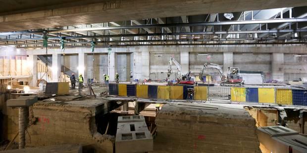 Début d'incendie à Schuman: reprise de la circulation des métros, sans arrêt à la station - La DH