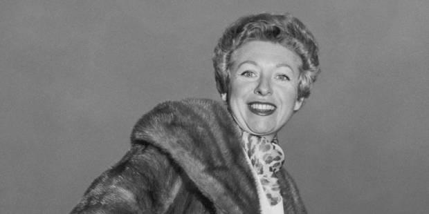 La chanteuse Patachou est décédée à l'âge de 96 ans - La DH