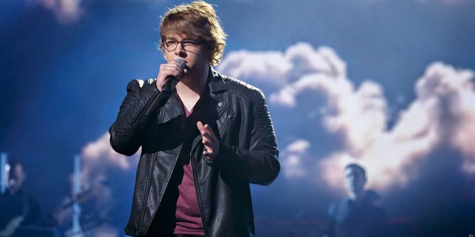 """Florent Brack, finaliste de The Voice: """"Un beau cadeau pour les 17 ans"""" - La DH"""