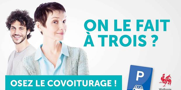 Covoiturage: une campagne et des parkings pour convaincre les Wallons - La DH