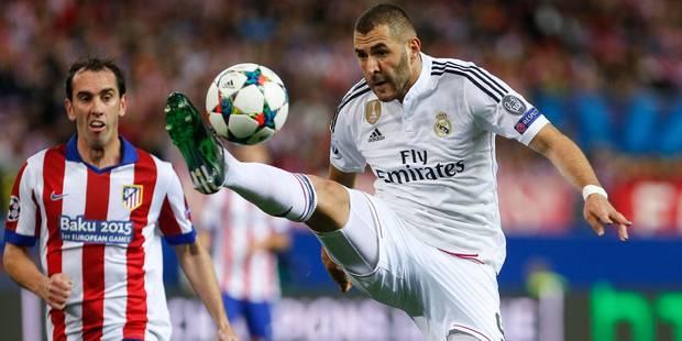 Ligue des Champions: Benzema forfait face � la Juventus