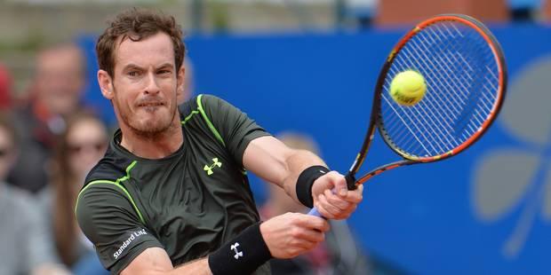 Andy Murray remporte son 1er titre sur terre battue - La DH