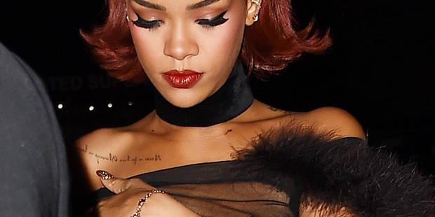 After-party du MET: Rihanna ne comptait pas en montrer tant ! - La DH