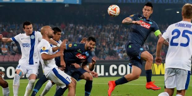 Calcio: Parme surprend Naples