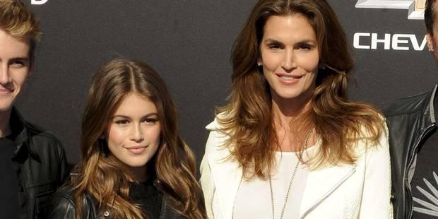Avec Kaia, la fille de Cindy Crawford, la rel�ve semble assur�e
