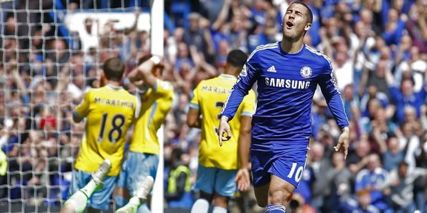 Eden Hazard élu joueur de l'année par les journalistes anglais - La DH