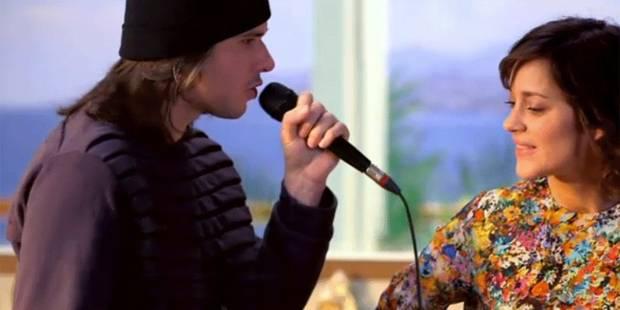 Marion Cotillard se met au rap et répond à Orelsan - La DH