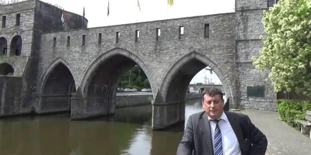 Paul-Olivier Delannois en campagne contre la consultation populaire sur le Pont des trous de Tournai (SONDAGE) - La DH