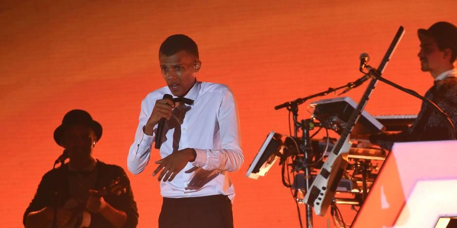 """Stromae fait """"sa fête"""" à Dakar malgré une coupure d'électricité"""