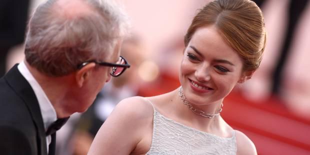 Woody Allen et sa nouvelle muse Emma Stone à Cannes - La DH