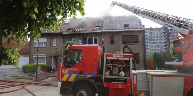 Jumet: deux maisons touchées par un incendie - La DH