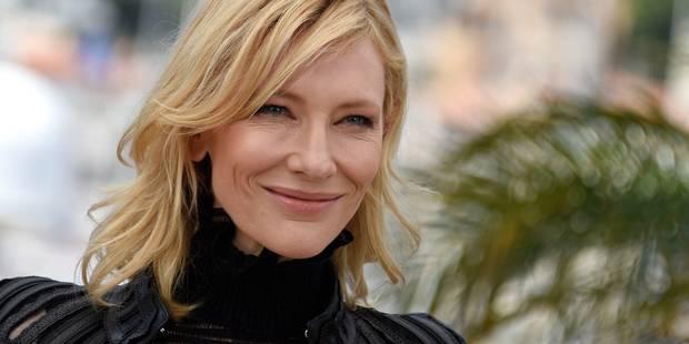 """Cate Blanchett dément à Cannes de prétendues """"liaisons avec des femmes"""" - La DH"""