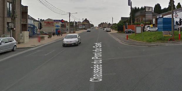 Un conducteur grièvement blessé après un accident de la route à La Louvière