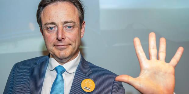 De Wever dément que la N-VA suggère une hausse des impôts - La DH