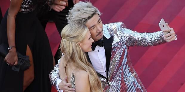 Cannes: selfies rebelles et transparence sur le tapis rouge - La DH