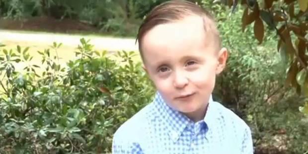 Ce garçon de 5 ans émeut l'Amérique entière en offrant un repas à un SDF - La DH