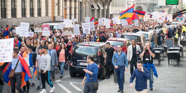 Génocide arménien: une manifestation proturque est annoncée à Bruxelles - La DH