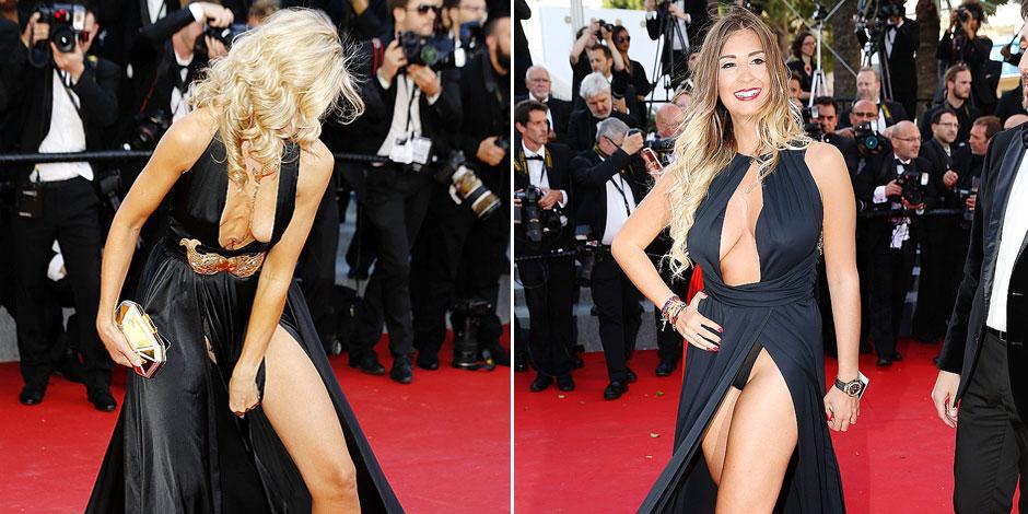 Nouveaux accidents de culotte et de décolleté à Cannes (PHOTOS)