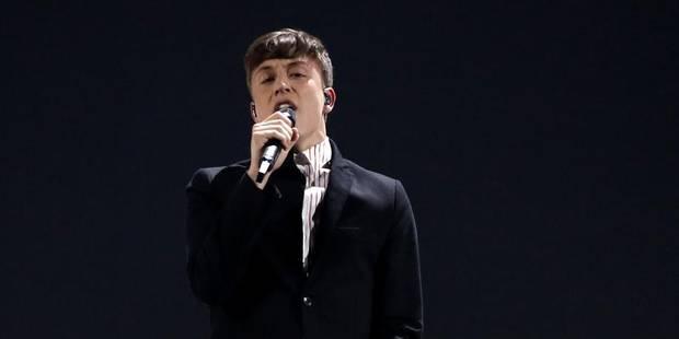 """Eurovision: La Belgique dans le top 5, la France a """"les boules"""" - La DH"""