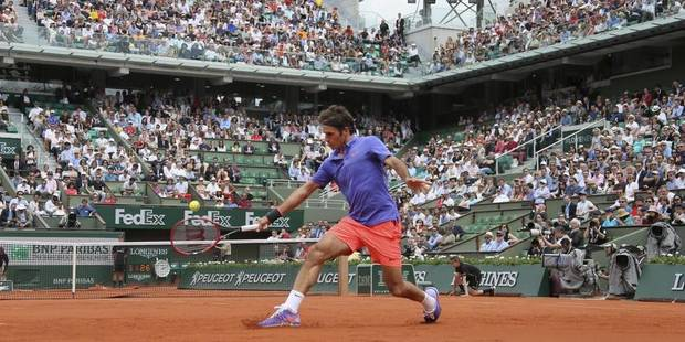Federer en colère après l'intrusion d'un adolescent sur le Central (Vidéo) - La DH