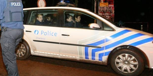 Lodelinsart: deux policiers blessés dans un accident - La DH