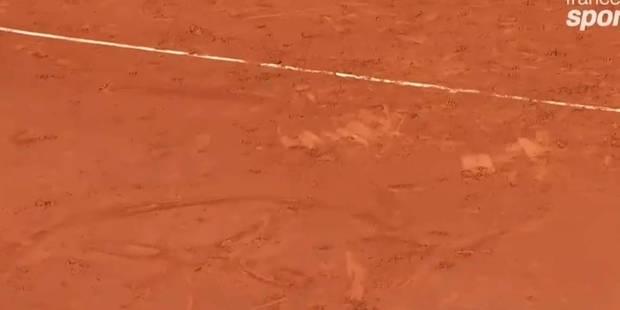 Roland Garros: le smiley raté de Gaël Monfils - La DH