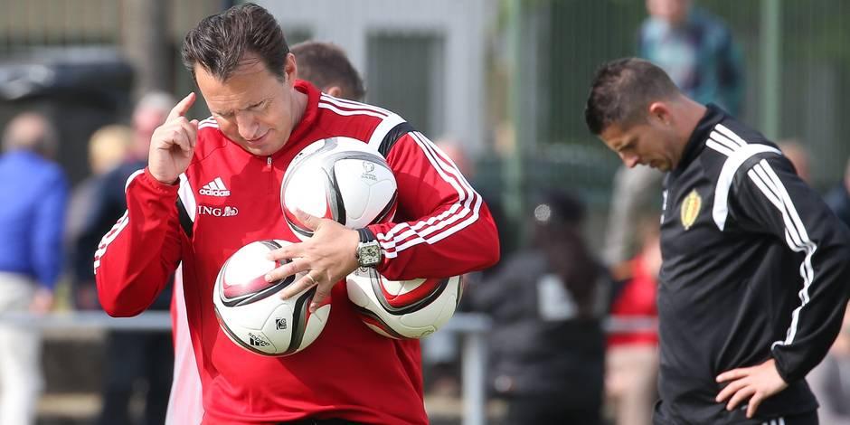 Wilmots confirme la piste de Schalke mais ne s'exprimera pas sur son avenir avant le 12 juin