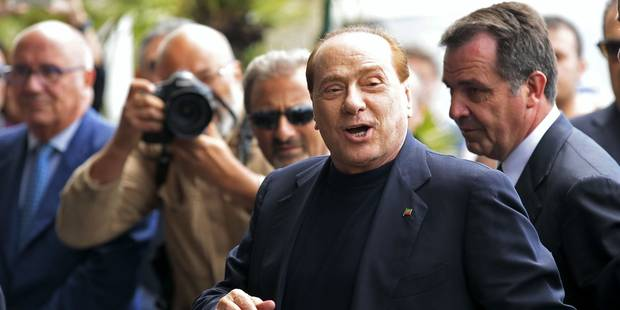 Berlusconi se rend par erreur au meeting de ses... adversaires! - La DH