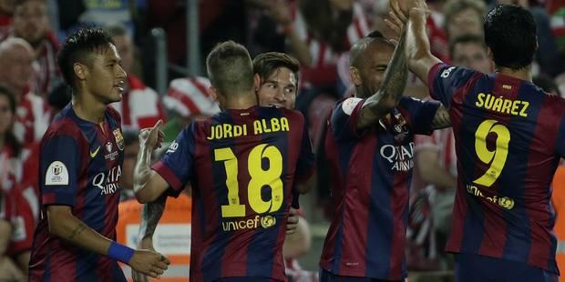 Le Barça remporte la Coupe du Roi et dit merci à son Messi - La DH