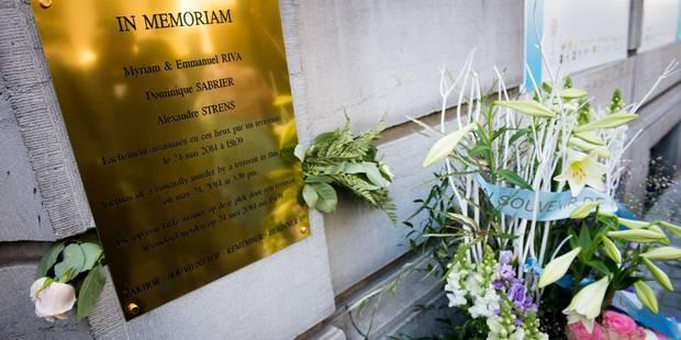 Hommage aux victimes du Musée juif à la grande synagogue de Bruxelles - La DH