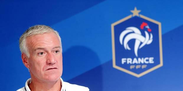 """Deschamps: """"La Belgique a une défense et un milieu très athlétiques, et beaucoup de vitesse devant"""" - La DH"""
